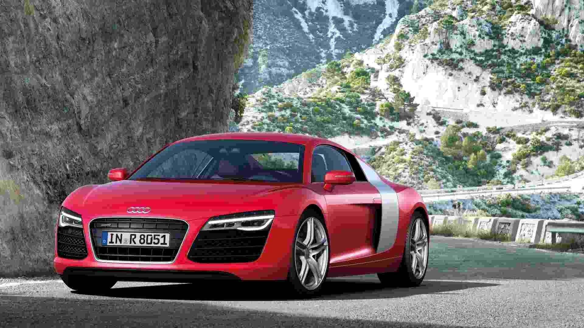 O Audi R8 acaba de receber leves atualizações na Europa, que serão apresentadas ao público no Salão de Paris, que começa em setembro - Divulgação
