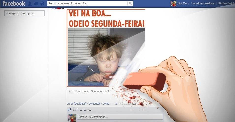 Abre álbum 'Como consertar erros comuns no Facebook'