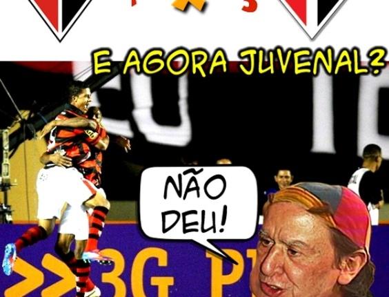Corneta FC: Juvenal dá uma de Quico, mas não consegue explicar vexame do São Paulo