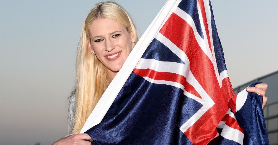 Vice-campeã olímpica de basquete nas últimas três edições dos Jogos, a jogadora Lauren Jackson foi anunciada nesta quinta-feira como porta-bandeira da Austrália na abertura de Londres (26/07/2012