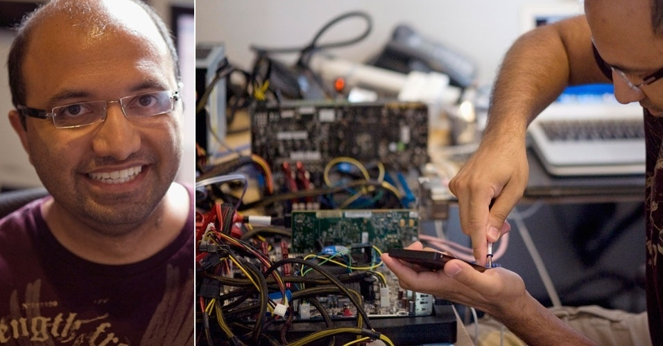 27.julho.2012 - Anand Shimpi, 30, foi descrito pela Reuters como ''uma das figuras mais influentes da indústria de tecnologia de quem você nunca ouviu falar''. Dono do site AnandTech.com, ele soma 12 milhões de visitantes únicos por mês à página onde avalia o desempenho de itens tecnológicos