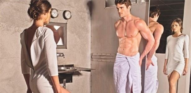 """A marca norte-americana Marc New York levou cena de """"Cinquenta Tons de Cinza"""" para a sua nova campanha - Divulgação"""