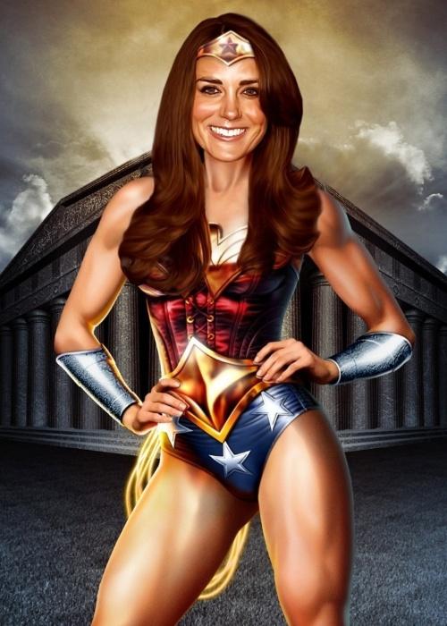 Princesa do Photoshop, Kate Middleton é alvo em imagens bizarras na internet