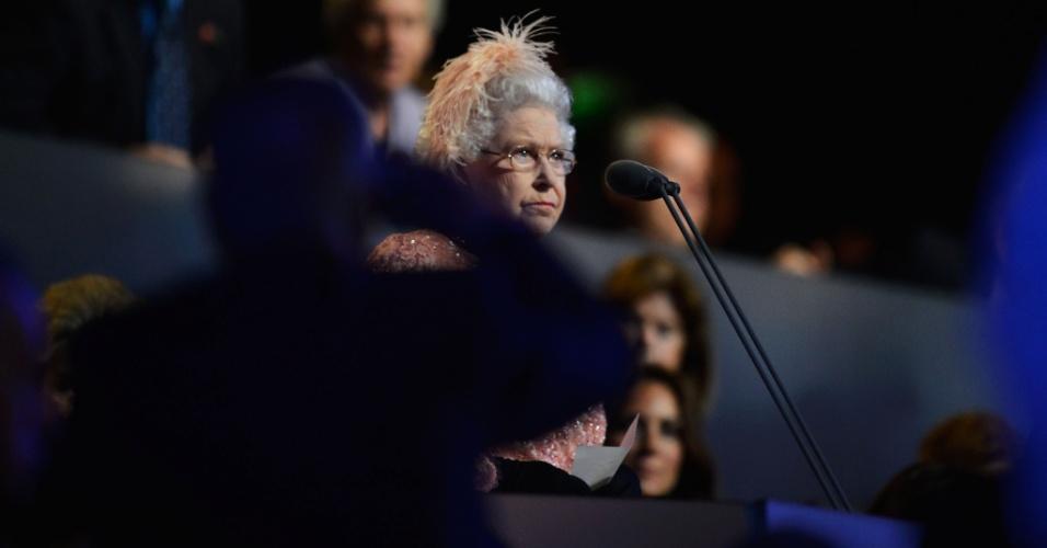 Rainha Elizabeth II declara abertura dos Jogos Olímpicos de Londres 2012