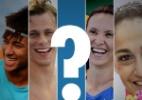 Descubra com que atleta brasileiro você mais se assemelha - Arte UOL