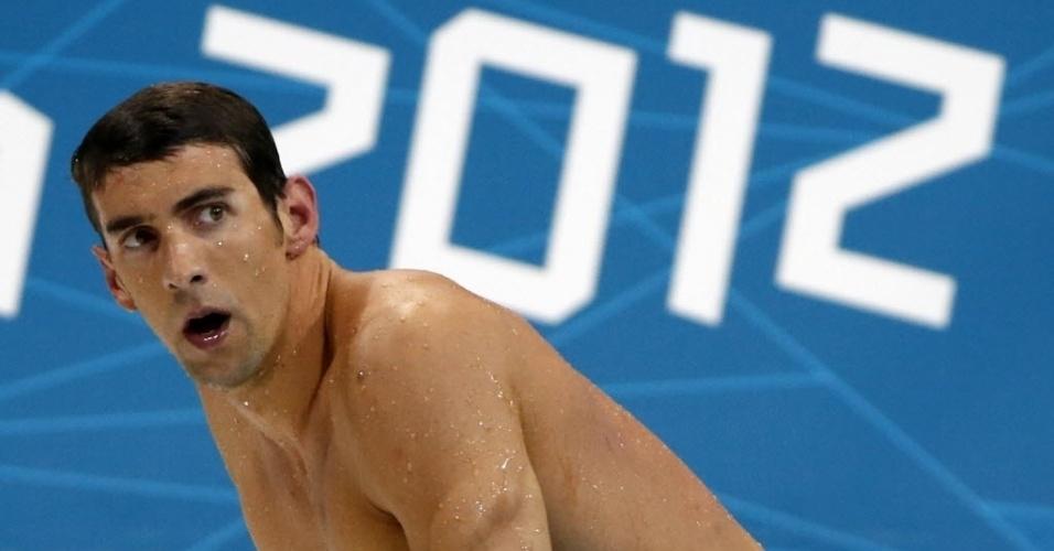 Descontente com quarto lugar em Londres, Phelps deixa piscina e não vai ao pódio