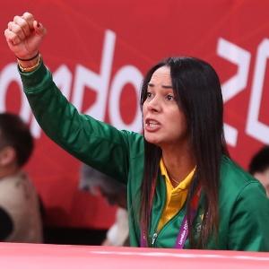 """Rosicléia Campos afirmou que ficou """"muito feliz"""" com o desempenho em Londres"""