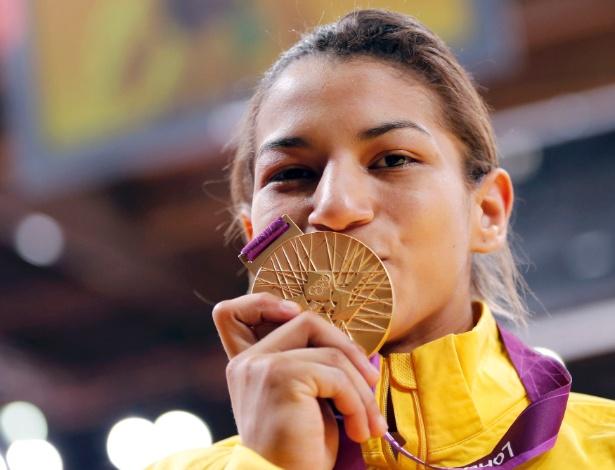 Sarah Menezes contribuiu para a melhor campanha olímpica do judô brasileiro com uma medalha de ouro
