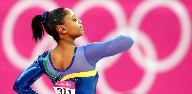 Daiane dá adeus à seleção com a eliminação da ginástica feminina nas Olimpíadas