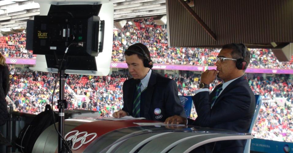 Ex-jogador Romário se prepara para transmitir partida brasileira pela TV