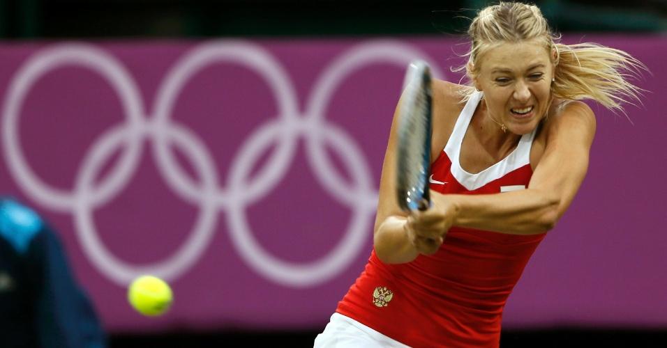 Russa Maria Sharapova estreia com vitória nos Jogos Olímpicos de Londres