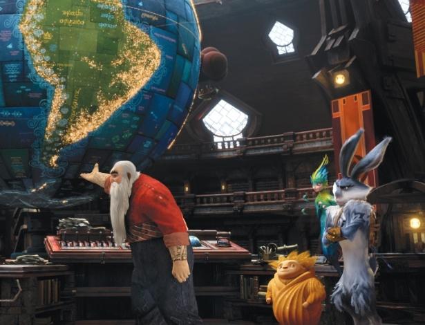 """""""A Origem dos Guardiões"""" é uma animação sobre uma equipe de criaturas mitológicas"""