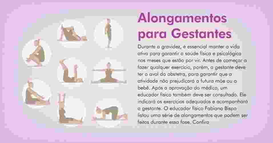 Abertura_Alongamentos_Gestantes - Victor Tchaba/Arte UOL