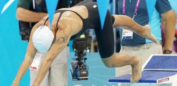 Joanna Maranhão ficou na 26ª colocação na prova dos 200 m borboleta e se despediu dos Jogos