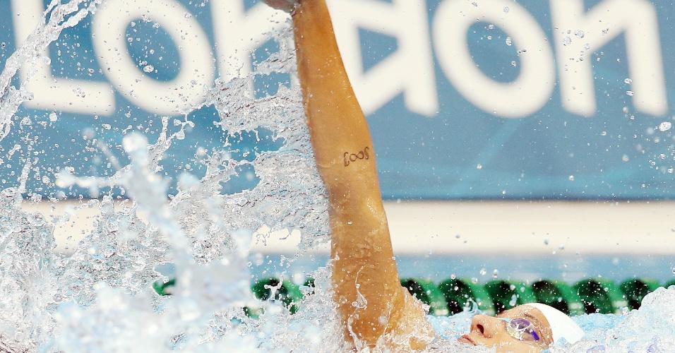 Joanna Maranhão conseguiu a classificação para as semifinais dos 200 m medley com o 16º tempo