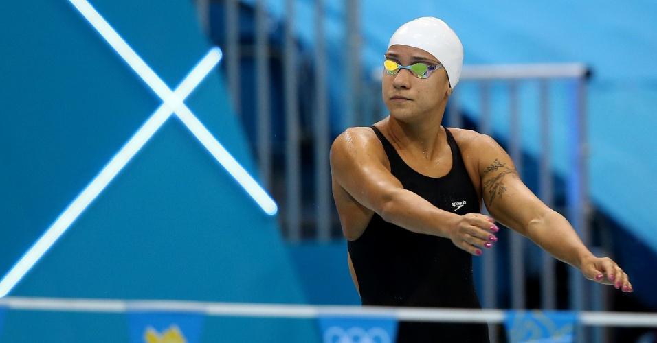Joanna Maranhão passou à semifinal dos 200 m medley com o 16º e último tempo