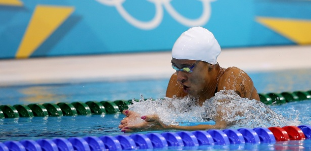 Joanna Maranhão conseguiu classificação para a semifinal dos 200 m medley