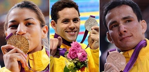 Sarah Menezes, Thiago Pereira e Felipe Kitadai, abriram o quadro de medalhas para o Brasil, no 1º dia