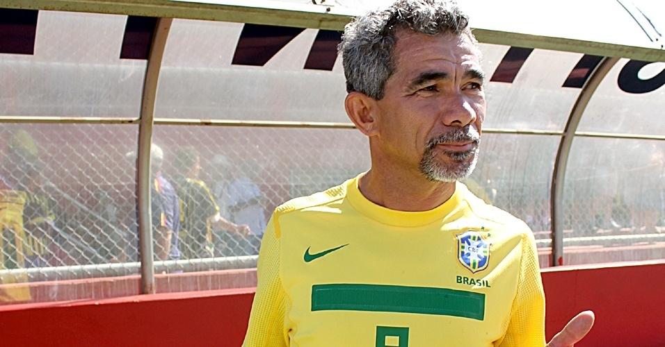 Seu Natalino foi ao jogo acompanhar os amigos do Ajax do Jardim São Jorge