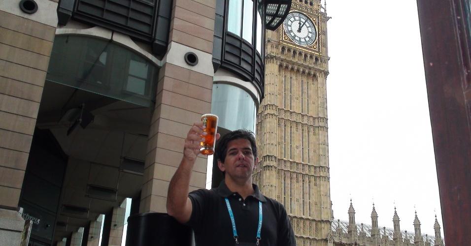 2ª parada: Com mais de um hora de prova, novo brinde tem o parlamento britânico como fundo