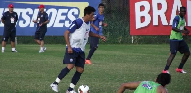 Após cirurgia no joelho, Jeferson já treina com bola no Bahia
