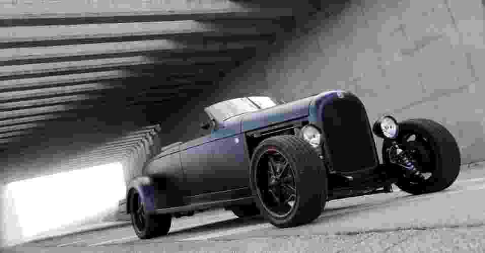 Chrysler 72 Roadster, de 1928, ganha motor V8 e câmbio de Dodge e recebe visual inspirado na Harley-Davidson Night Rod Special - João Mantovani/Fullpower