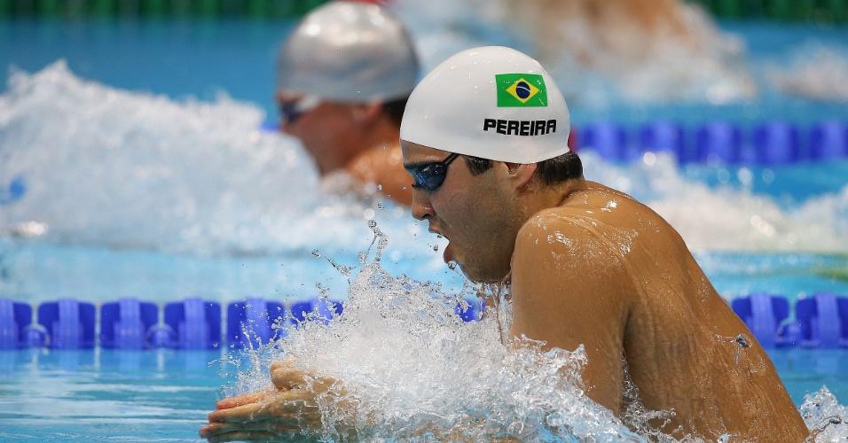Henrique Barbosa fez apenas o sexto tempo em sua bateria nos 200 m peito e foi eliminado ao ficar com o 19º no geral