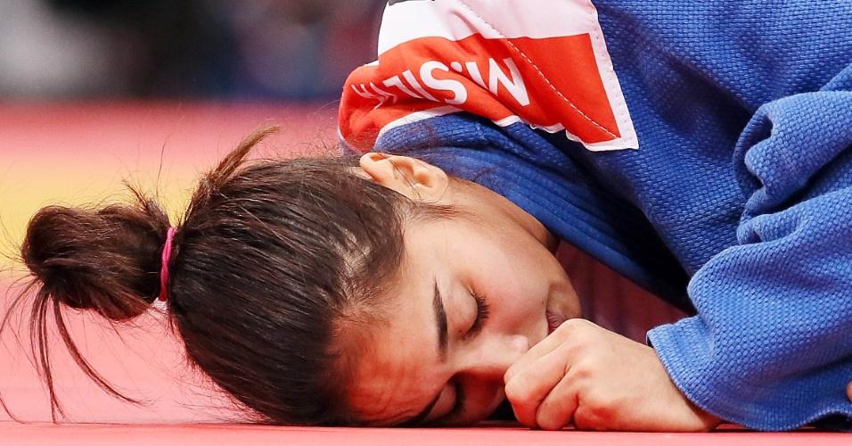 Mariana Silva foi derrotada pela chinesa Lili Xu na primeira rodada da categoria até 63 kg do judô olímpico