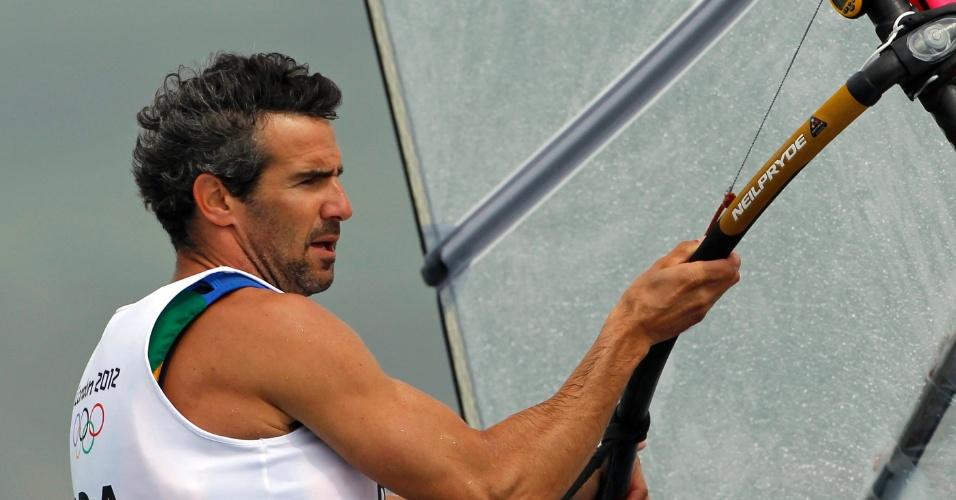 Bimba participa de etapa do windsurf nos Jogos Olímpicos