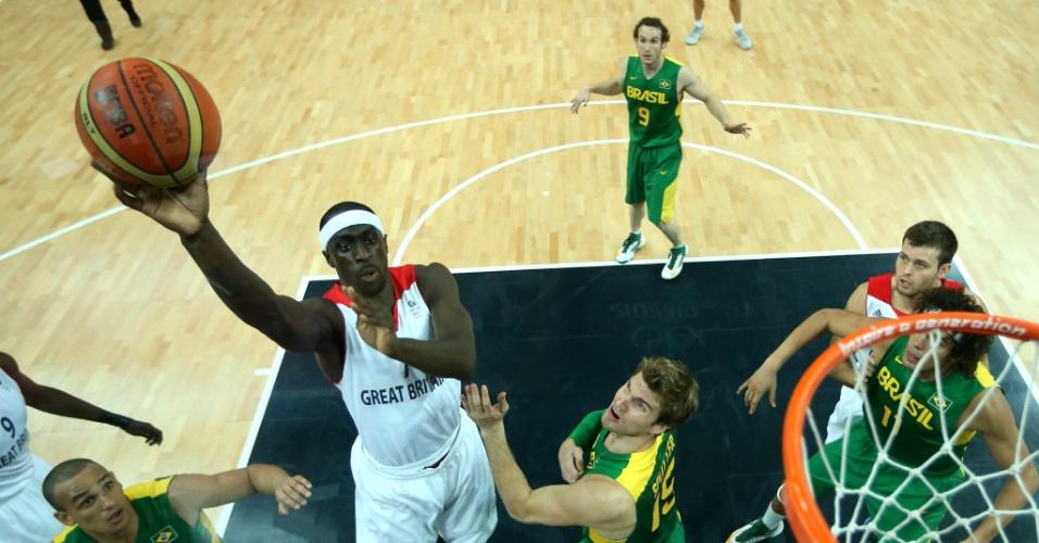 Seleção brasileira masculina de basquete encara o Reino Unido em seu segundo desafo nos Jogos Olímpicos