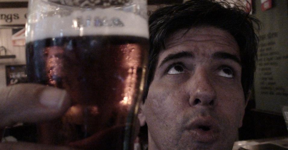 13ª parada: Repórter e seu fígado comemoram o fim da prova pelos pubs londrinos no trajeto da maratona olímpica