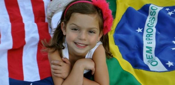 Carol é brasileira, mas mora nos EUA