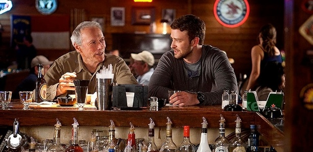 "Cena de ""Trouble With the Curve"", com Clint Eastwood e Justin Timberlake"