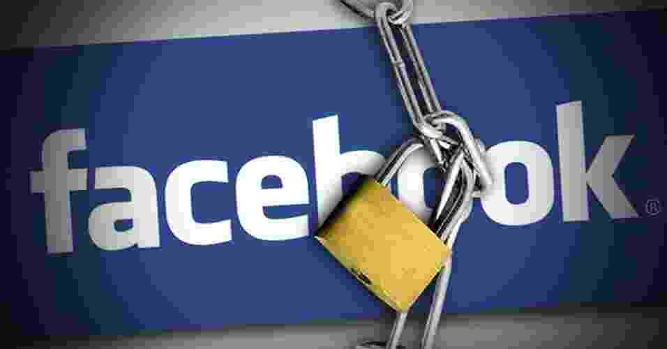 Como fechar o ''corpo do seu Facebook'' - Arte UOL