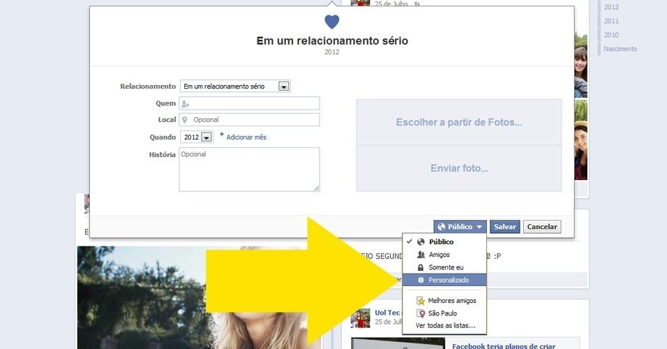 Como fechar o ''corpo do seu Facebook''