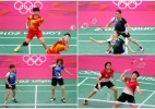 Sul-coreanas do badminton têm punição reduzida após corpo mole em Londres-2012 - REUTERS/Bazuki Muhummad