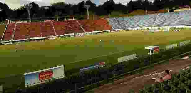 Semifinal da Taça Guanabara será realizada no Estádio Radialista Mário Helênio - Folhapress