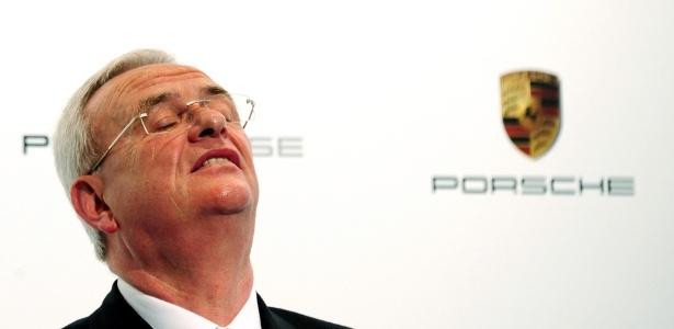 Martin Winterkorn, da VW, afirmou que a Porsche terá independência financeira, como a Audi - AFP