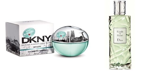 DKNY e Dior fazem referência ao Brasil em suas novas fragrâncias - Montagem/Divulgação