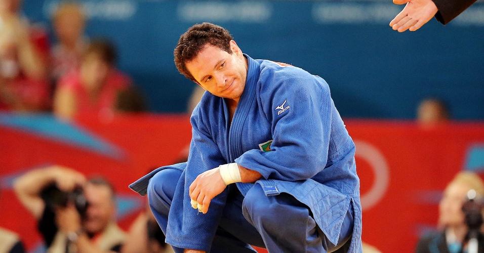 Tiago Camilo foi derrotado na disputa do bronze da categoria até 90 kg pelo grego Ilias Iliadis e sai de Londres sem medalha