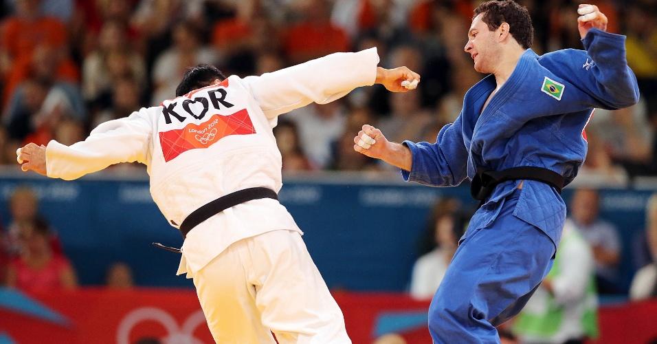 Tiago Camilo foi derrotado pelo sul-coreano Dae-nam Song e disputa apenas a medalha de bronze na categoria até 90 kg