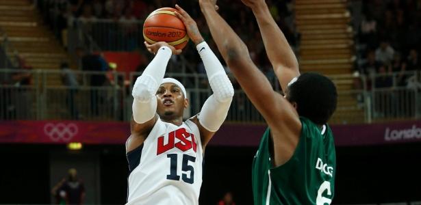 Carmelo Anthony marca o maior número de pontos de um norte-americano e entra pra história olímpica