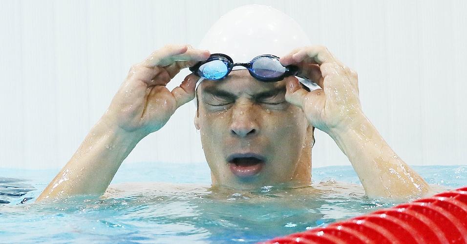 Kaio Márcio foi eliminado na primeira rodada dos 100 m borboleta dos Jogos Olímpicos