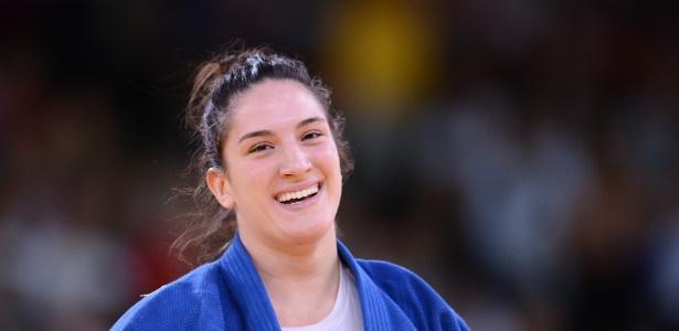 Mayra Aguiar derrotou holandesa por ippon na disputa pela medalha de bronze da categoria até 78 kg