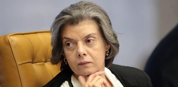 A ministra e presidente do STF Cármen Lúcia