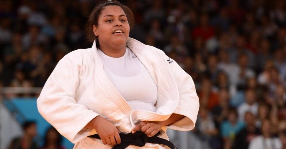 Brasileira Maria Suelen compete na categoria acima de 78 kg no judô feminino em Londres