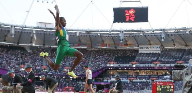 Mauro Vinícius da Silva, classificou-se para as finais do salto em distância