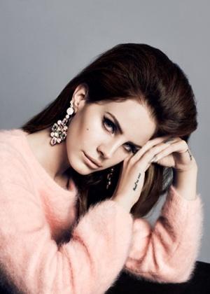 Lana del Rey para a campanha Inverno 2012/13 da H&M - Divulgação