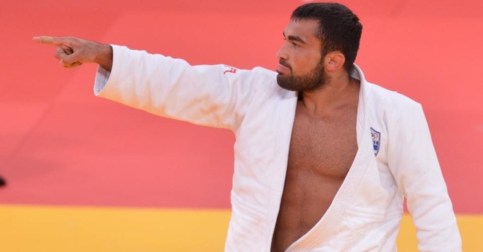 O judoca grego Ilias Iliadis é um dos principais nomes da categoria até 90 kg