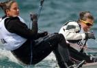 Mulheres brilham e Brasil tem quatro entre líderes do Mundial de Vela - AFP PHOTO/William WEST